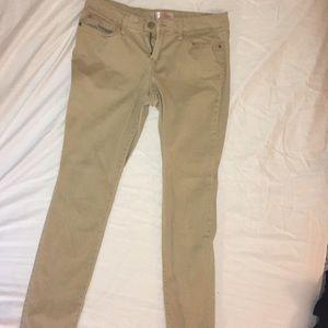 Tan Pants (Worn Once)